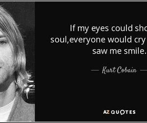 eyes, kurt cobain, and music image