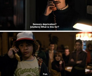 dustin, quotes, and tv show image
