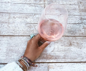 wine, ros, and rose image