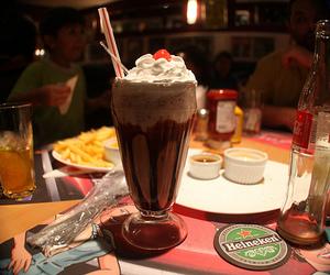 chocolate, milkshake, and food image