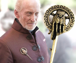 game of thrones, pin brooch, and hand of king image