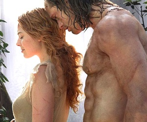 tarzan, margot robbie, and alexander skarsgard image
