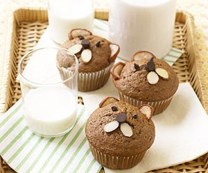 muffin, bear, and food image
