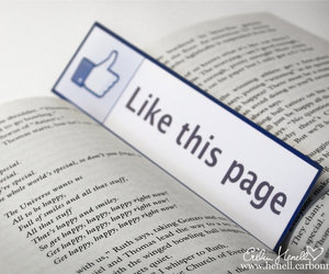 like, bookmark, and facebook image