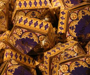 harry potter, aesthetic, and chocolate frogs image
