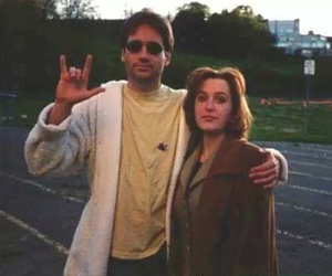 fox mulder, dana scully, and x files image
