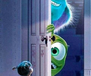boo, monster inc, and disney image