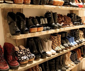 boots, shelve, and closet image