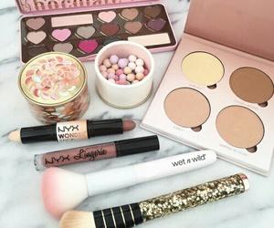 makeup, NYX, and beauty image