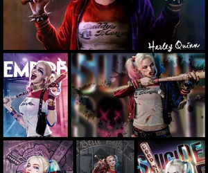 comics, harley quinn, and sucide squad image