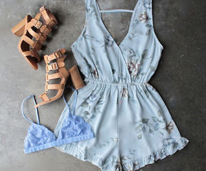 blue, bralette, and girly image