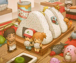 pokemon, food, and anime image