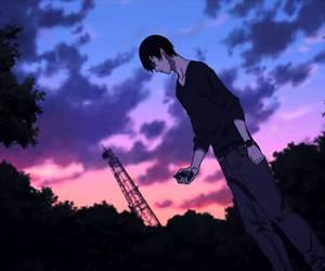 anime, nine, and sky image