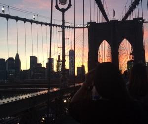Brooklyn, brooklyn bridge, and new york image