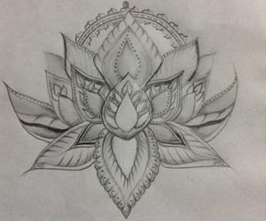 draw, mandala, and sombras image