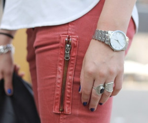 fashion, rings, and watch image
