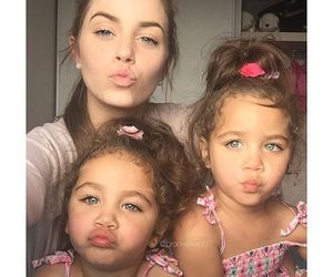 family, beauty, and girl image