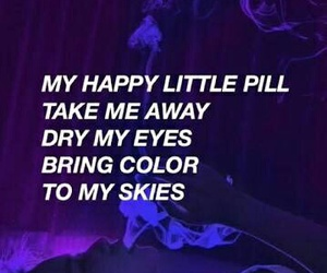 quotes, troye sivan, and happy little pill image
