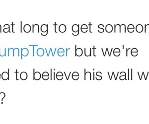 funny, climber, and trump tower image