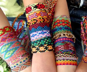 aww, friendship bracelets, and cool image