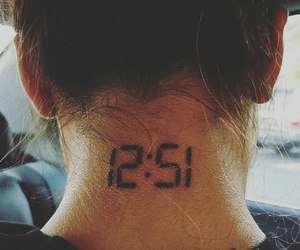favorite, tattoo, and 12:51 image