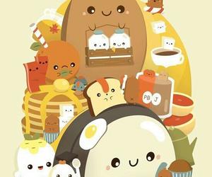 kawaii and food image
