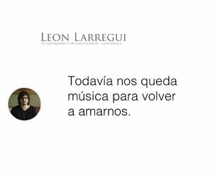 frase, leon larregui, and amor image