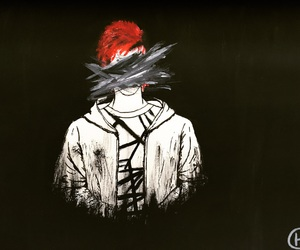 art, josh dun, and blurryface image