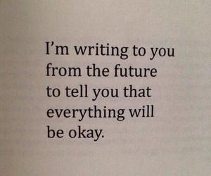 quote, future, and happy image