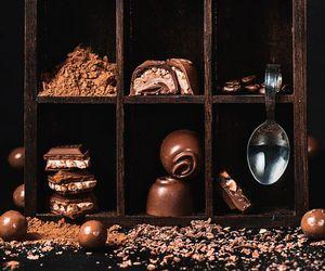 chocolate, fall, and food image