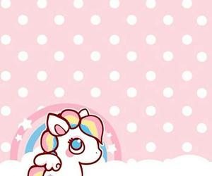 unicorn, kawaii, and wallpaper image
