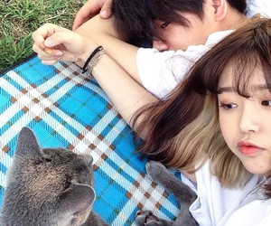 asian, ulzzang, and korean couple image