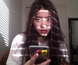 asian, brunette, and girl image