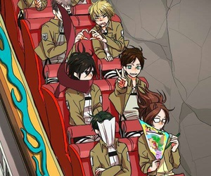 attack on titan, snk, and aot image