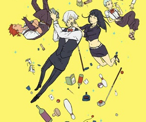 anime, nona, and death parade image