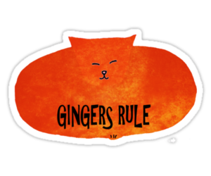 ginger, girls, and humor image