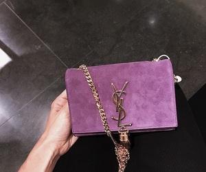 bag, fashion, and YSL image