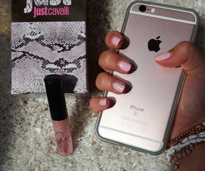 iphone, rose gold, and rosegold image