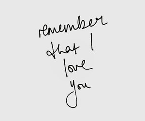 love, remember, and quote image