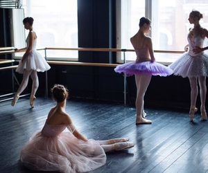 ballet, ballerina, and dancers image