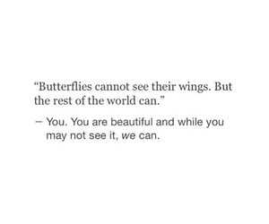 quotes, butterfly, and beautiful image