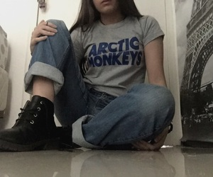 alternative, arctic monkeys, and clothes image