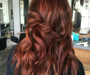 color, copper, and hair image