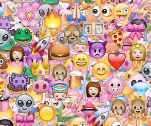 emoji, emojis, and wallpaper image