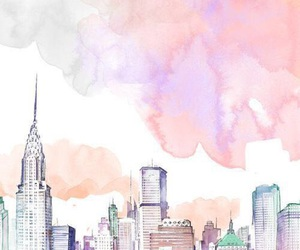 cities, new york, and wallpaper image