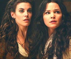 once upon a time, snow white, and red image