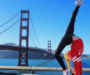ballet, stretch, and california image