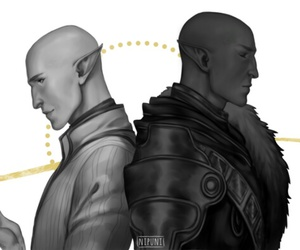 dragon age, solas, and dragon age inquisition image