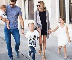 child, family, and fashion image