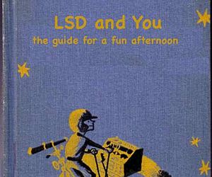 book, lsd, and drugs image